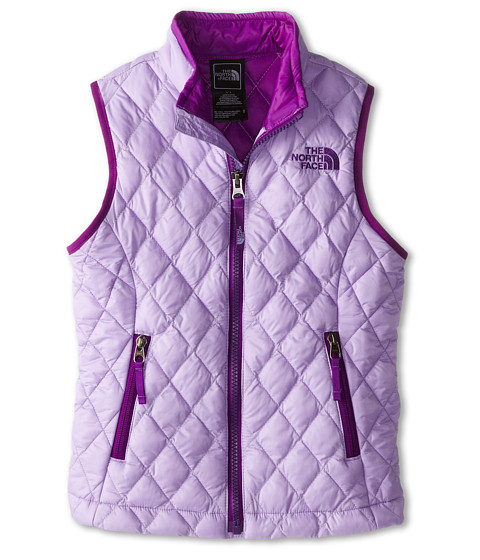 The North Face Kids - ThermoBall Vest (Little Kids/Big Kids) (Violet Tulip Purple) Girl