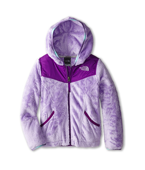 The North Face Kids - Oso Hoodie (Little Kids/Big Kids) (Violet Tulip Purple) Girl