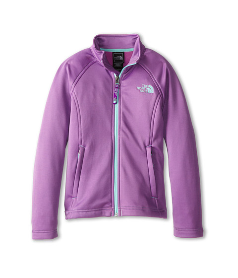 The North Face Kids - LW Agave Jacket (Little Kids/Big Kids) (Iris Purple) Girl