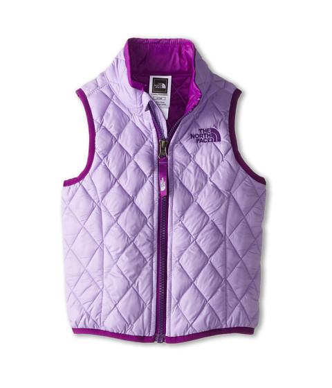 The North Face Kids - ThermoBall Vest (Toddler) (Violet Tulip Purple) Girl