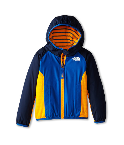 The North Face Kids - Reversible Grizzly Peak Wind Jacket (Toddler) (Cosmic Blue) Boy
