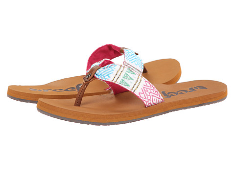 Reef - Scrunch TX (Pink/Multi) Women's Sandals