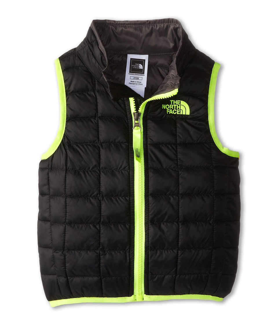 The North Face Kids - ThermoBall Vest (Toddler) (TNF Black/Graphite) Boy's Vest