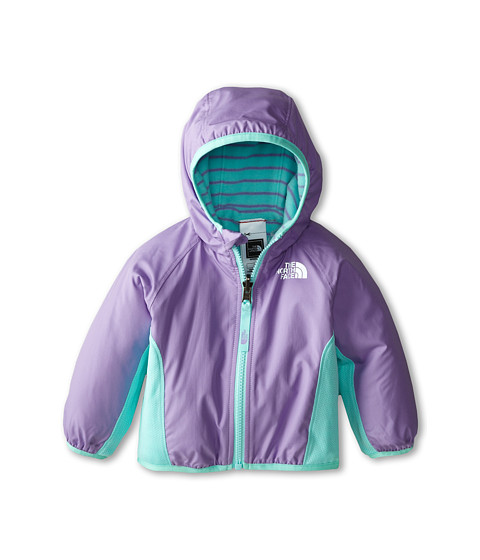 The North Face Kids - Reversible Grizzly Peak Wind Jacket (Infant) (Violet Tulip Purple) Kid
