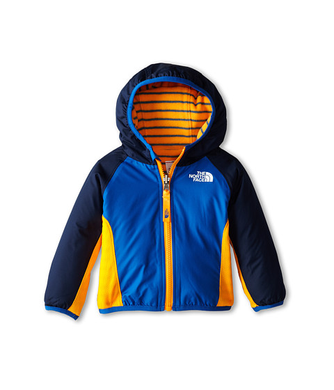 The North Face Kids - Reversible Grizzly Peak Wind Jacket (Infant) (Monster Blue) Kid's Coat