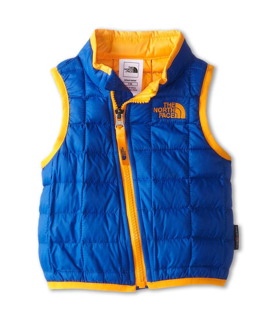 The North Face Kids - ThermoBall Vest (Infant) (Monster Blue) Kid's Vest
