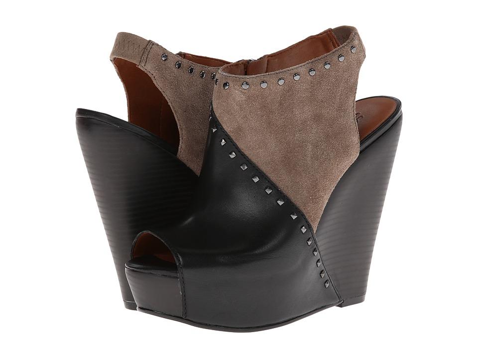 Lucky Brand Ramona Womens Wedge Shoes (Black)