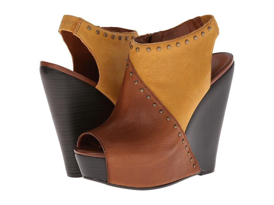 Lucky Brand Ramona Womens Wedge Shoes (Brown)