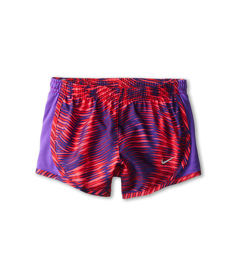 Nike Kids - GFX Tempo Short (Little Kids/Big Kids) (Hyper Punch/Hyper Grape/Metallic Silver) Girl's Shorts