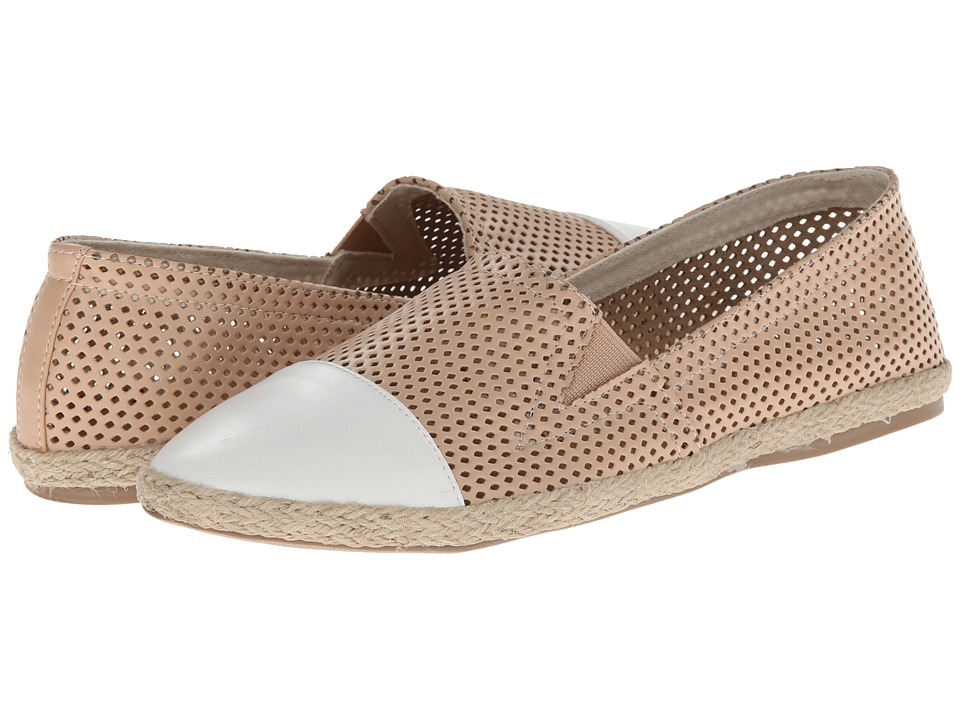 Madden Girl - Portia-P (Nude Paris) Women's Slip on Shoes