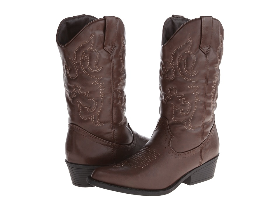 Madden Girl - Sanguine Wide Calf (Brown Paris) Women's Pull-on Boots
