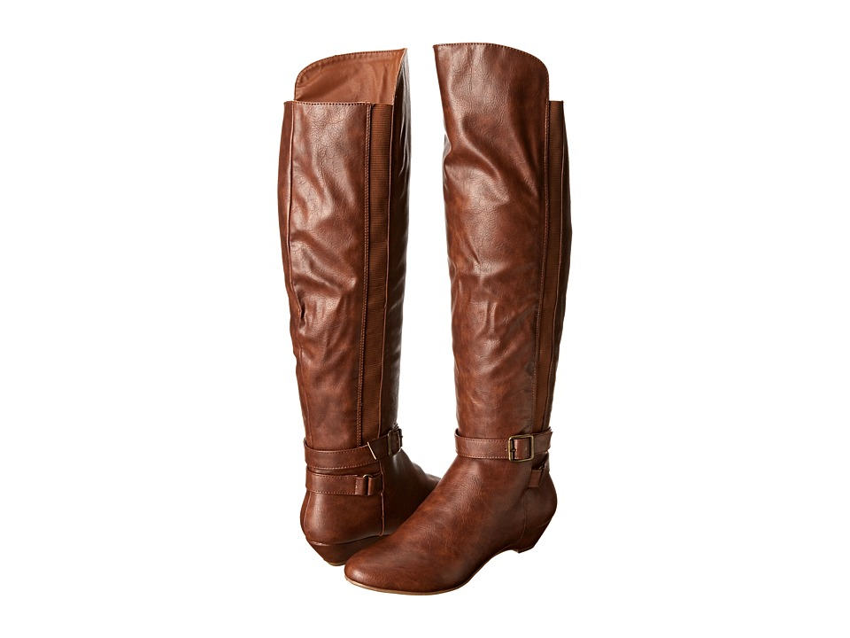 Madden Girl Zilch (Cognac Paris) Women