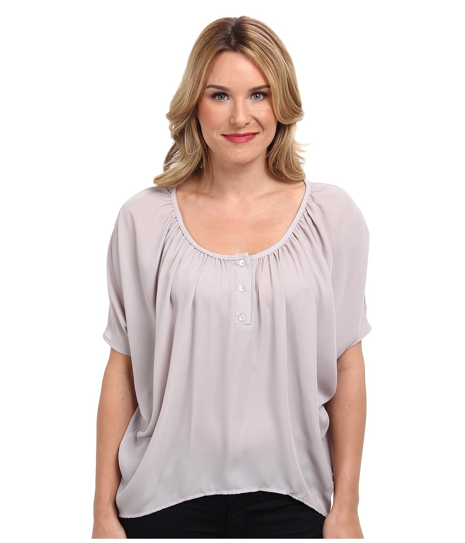 Christin Michaels - Celina Top (Aluminum) Women's Clothing