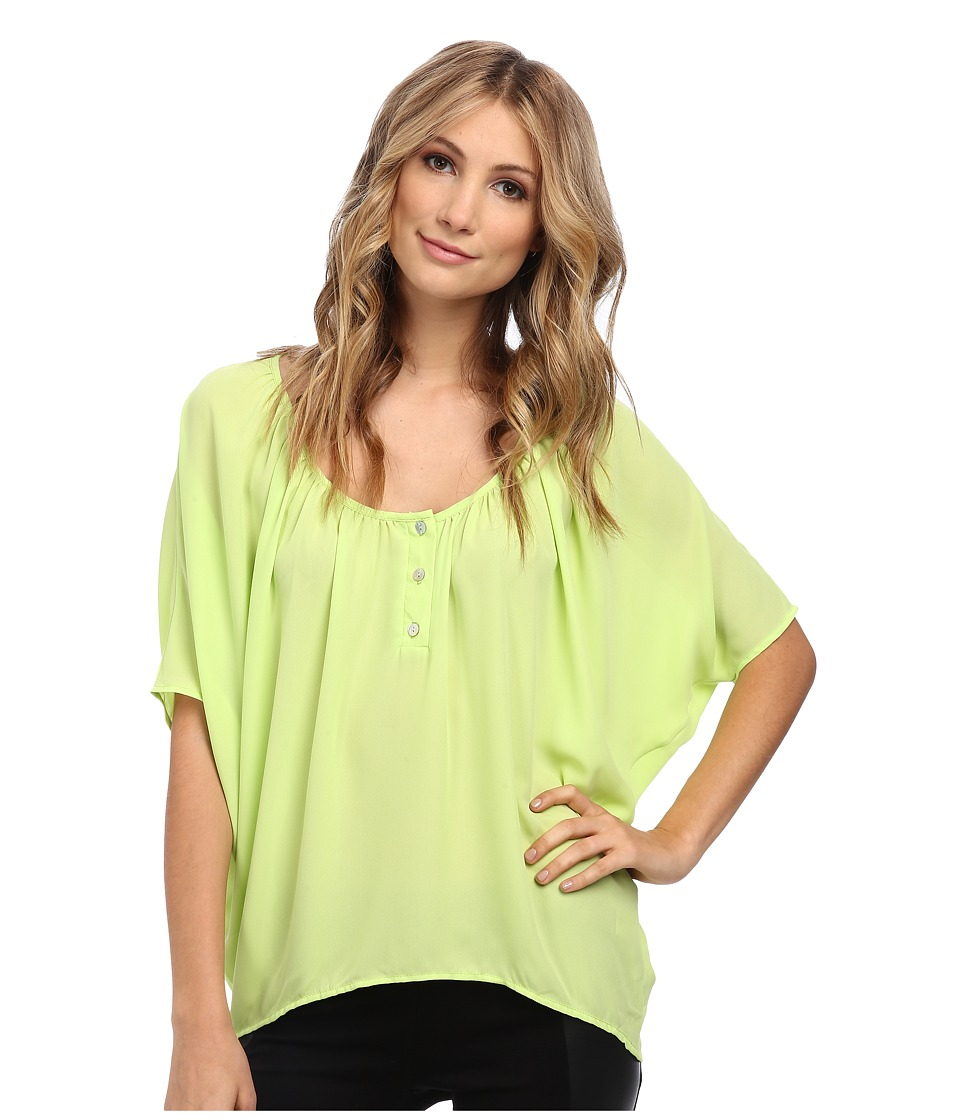 Christin Michaels - Celina Top (Apple Green) Women's Clothing
