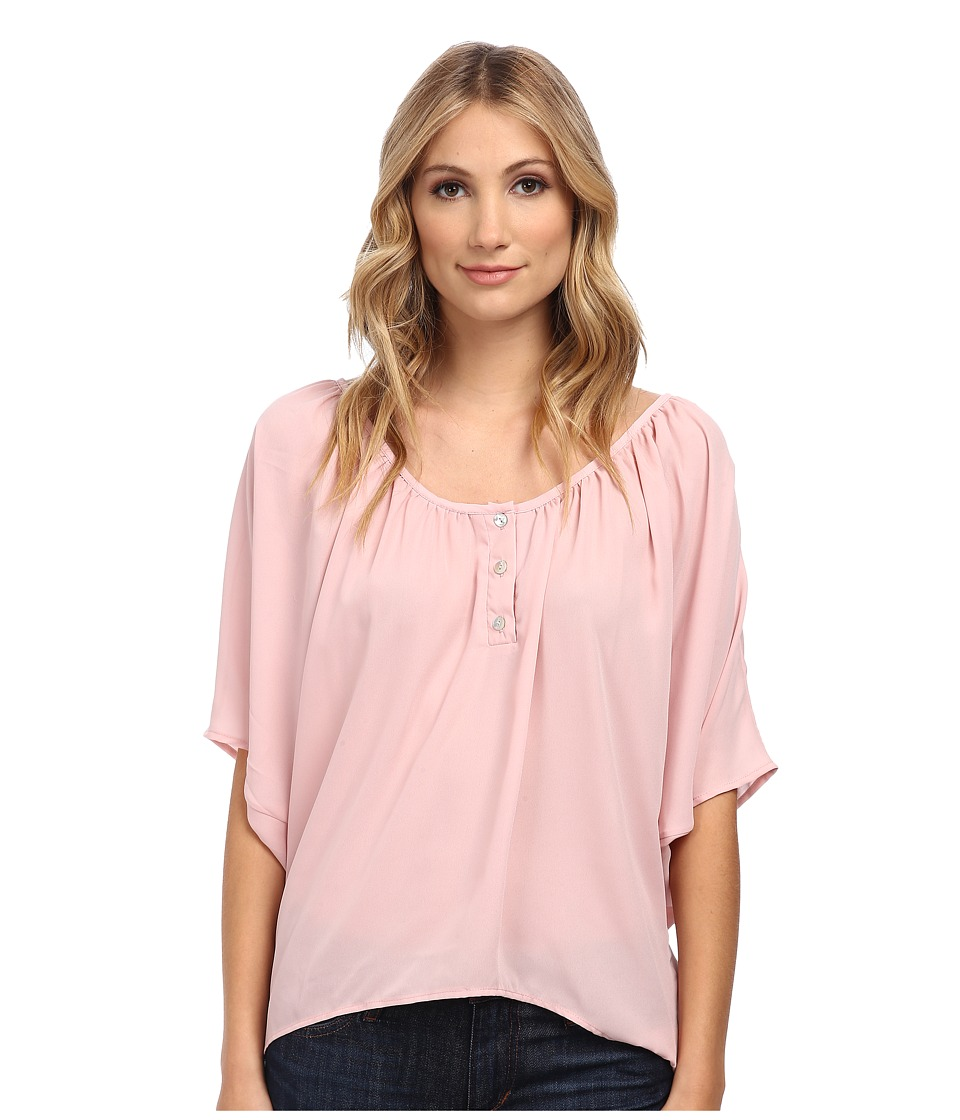 Christin Michaels - Celina Top (Dusty Rose) Women's Clothing