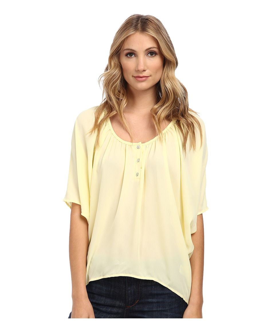 Christin Michaels - Celina Top (Yellow) Women's Clothing