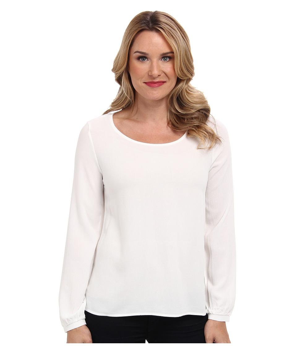 Christin Michaels - Iris Top (White) Women's Clothing