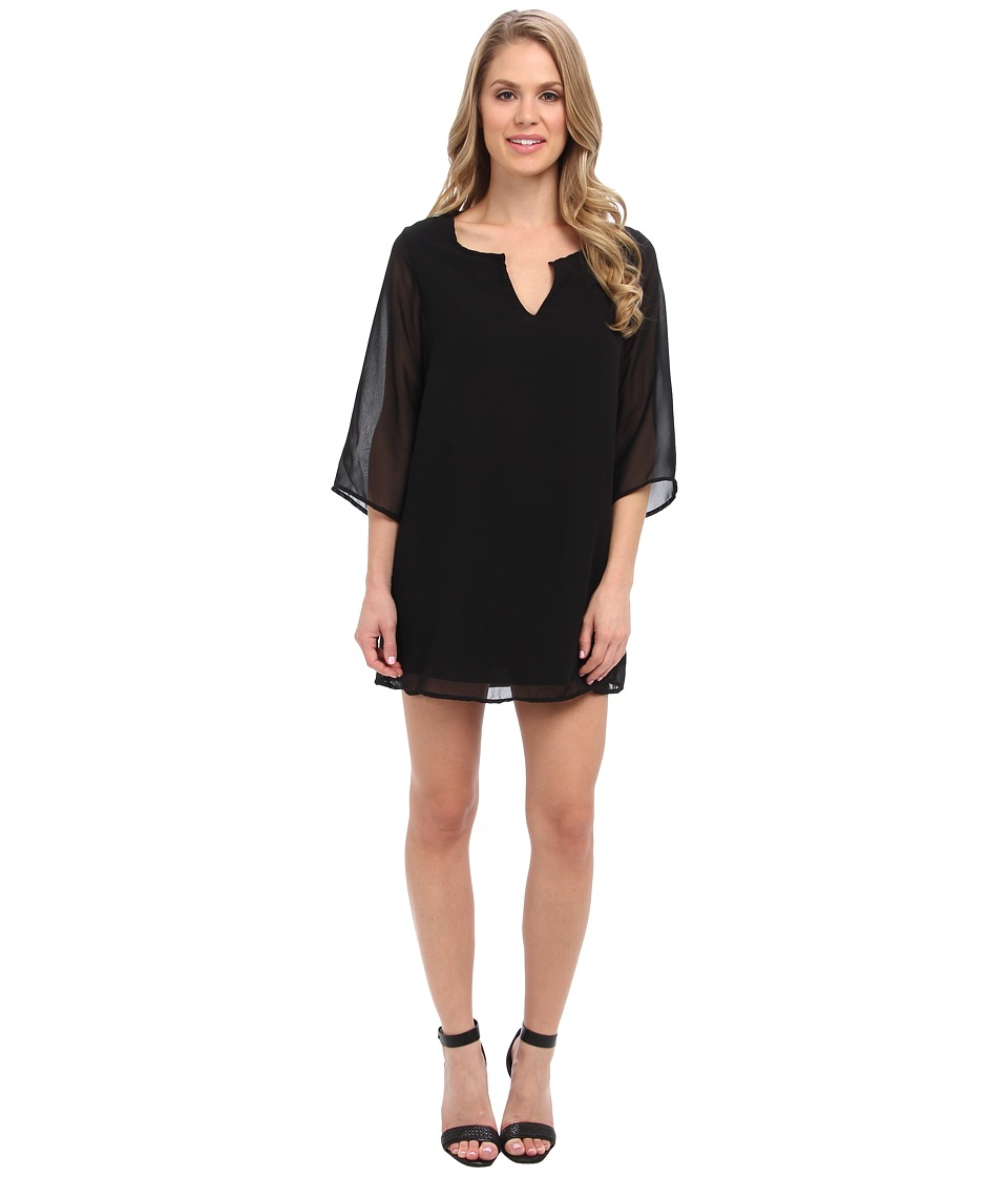 Christin Michaels - Kathryn Shift Dress (Black) Women's Dress