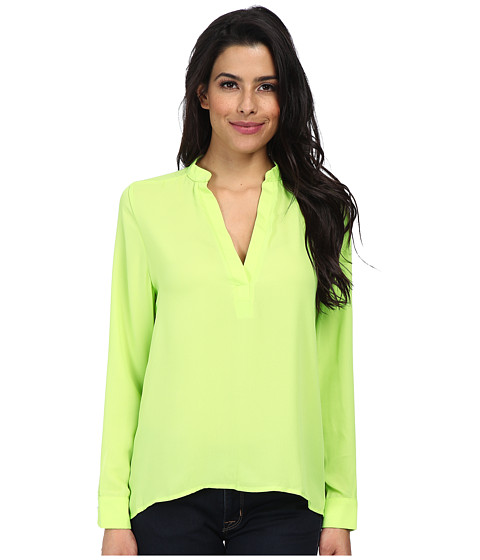 Brigitte Bailey - Sophie Blouse (Neon Green) Women's Blouse