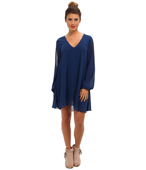 Brigitte Bailey - Natalie Shift Dress (Navy) Women's Dress