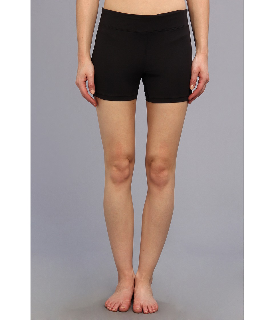 Fila - Side Piped Short (Black/Black) Women