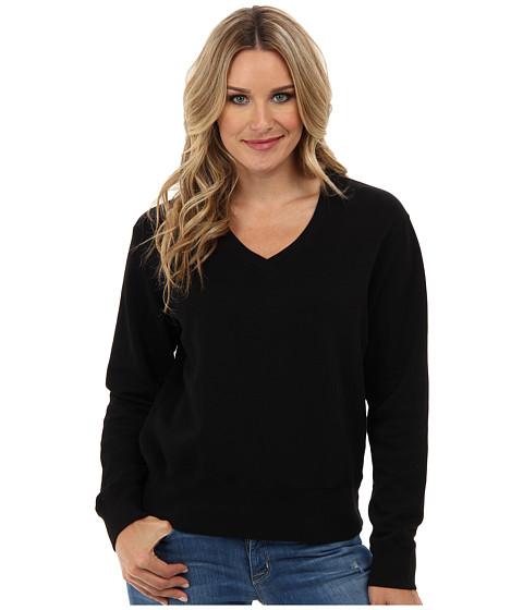 Mod-o-doc - Deep V-Neck (Black) Women's Sweater