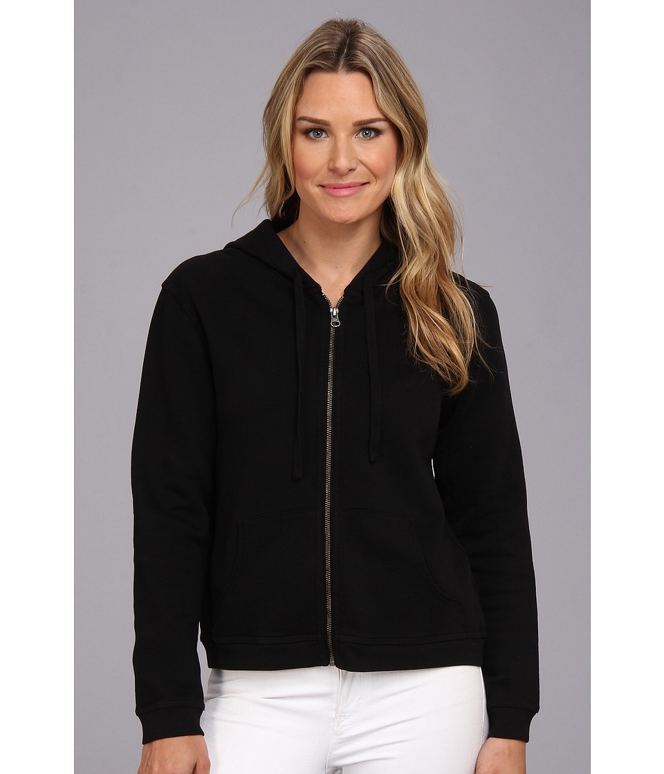 Mod-o-doc - Zip Hoodie (Black) Women's Sweatshirt