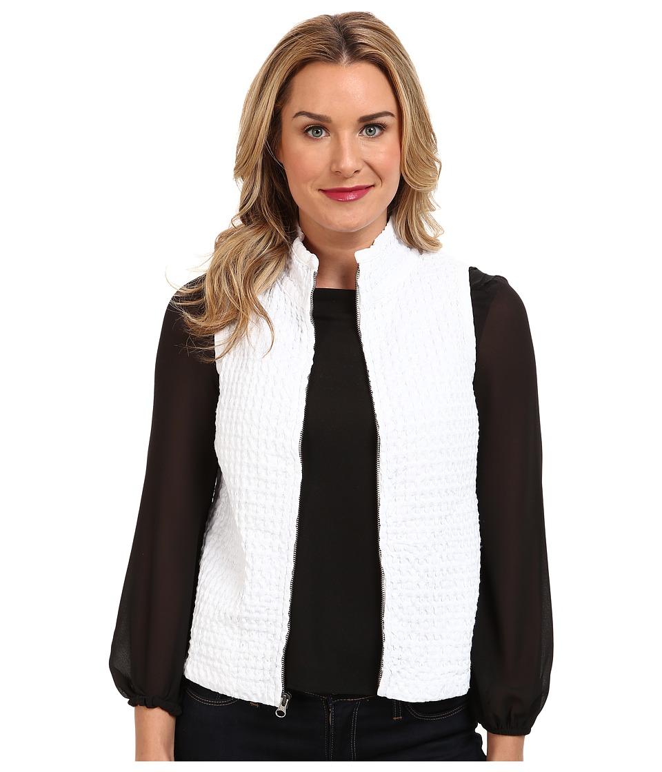 Mod-o-doc - Zip Vest (White) Women's Vest