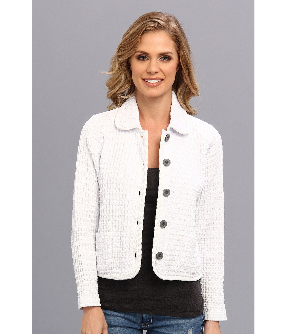 Mod-o-doc - Monster Rag Crop Jacket (White) Women's Coat