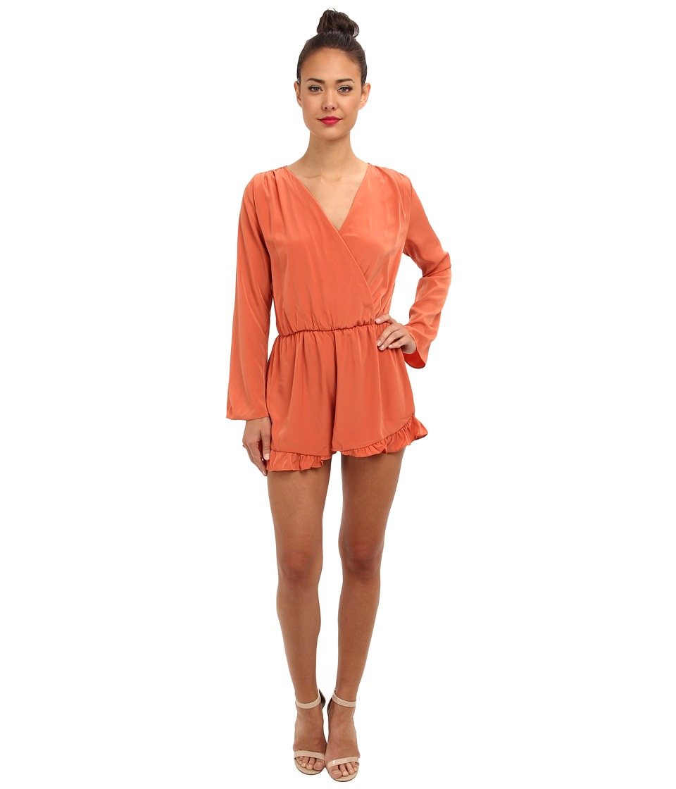Brigitte Bailey - Krisi Romper (Rust) Women's Clothing