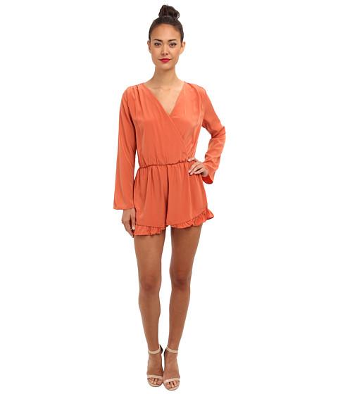 Brigitte Bailey - Krisi Romper (Rust) Women's Clothing