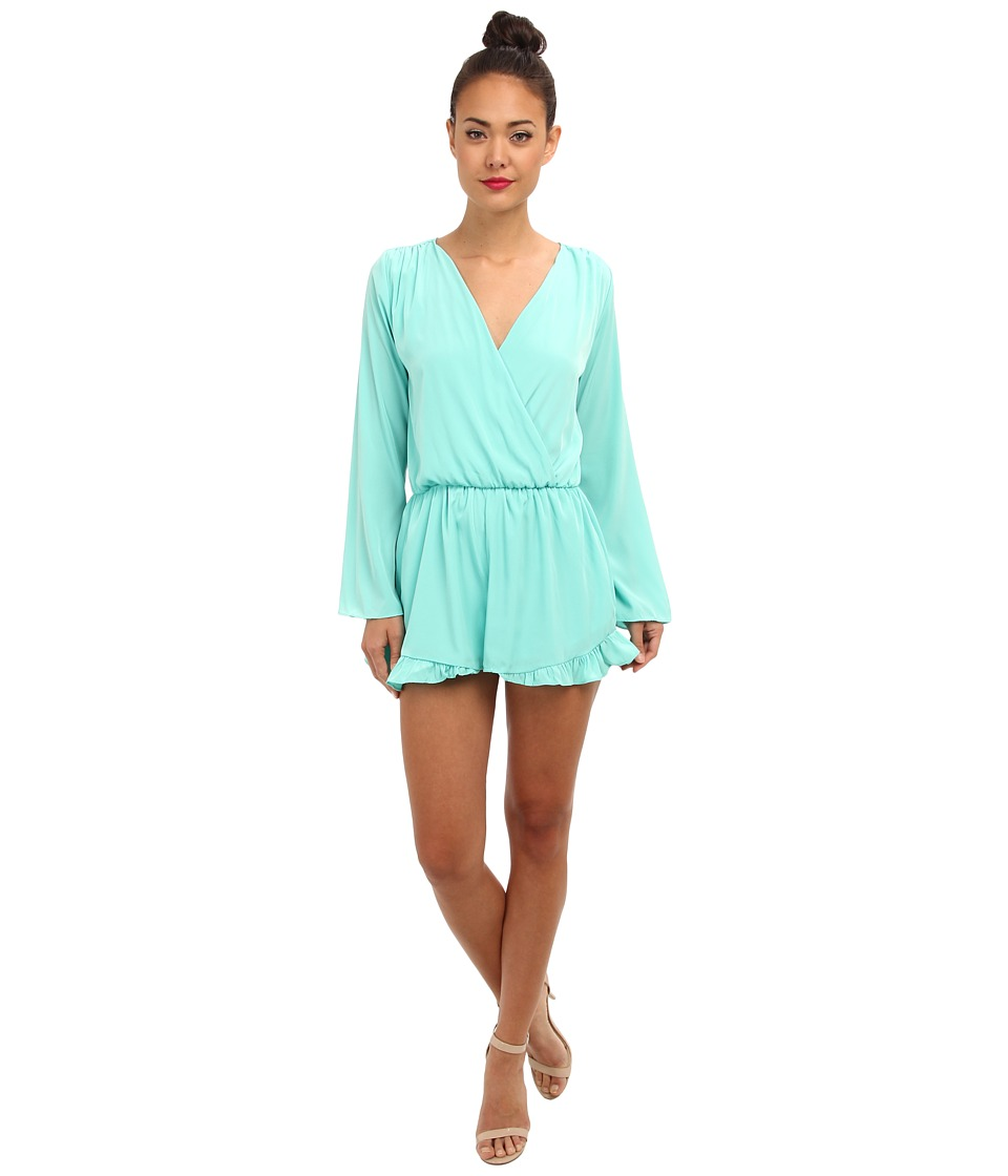 Brigitte Bailey - Krisi Romper (Mint) Women's Clothing