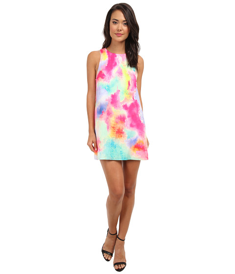 Gabriella Rocha - Life Is Beautiful Shift Dress (Neon Rainbow) Women
