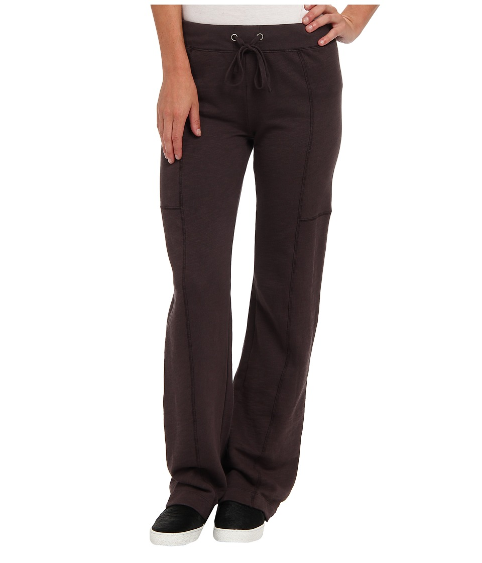 Mod-o-doc - Slub French Terry Seamed Straight Leg Pant (Cinder) Women's Casual Pants