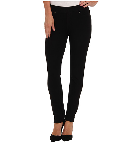 Mod-o-doc - Stretch Knit Twill Skinny Ankle Pant (Black) Women's Casual Pants