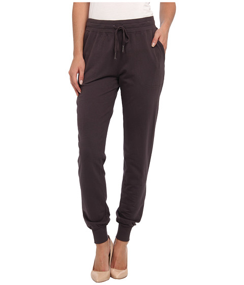 Mod-o-doc - Lightweight French Terry Pull-On Sweatpant w/ Rib Cuffs (Cinder) Women's Casual Pants