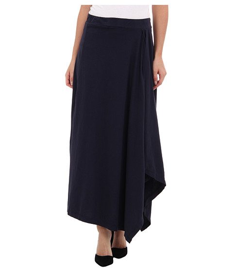 Mod-o-doc - Classic Jersey Hi-Low Hem Maxi Skirt (Twilight) Women's Skirt