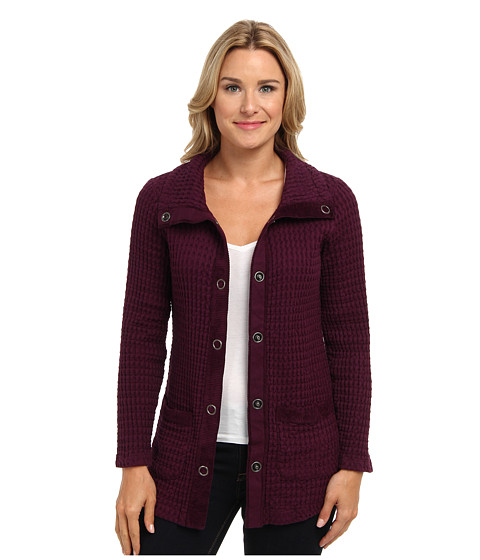 Mod-o-doc - Monster Rag Fitted Cardigan (Blackberry) Women