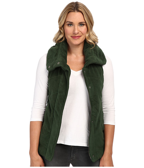 Mod-o-doc - Sherpa Quilted Vest (Spruce) Women's Vest
