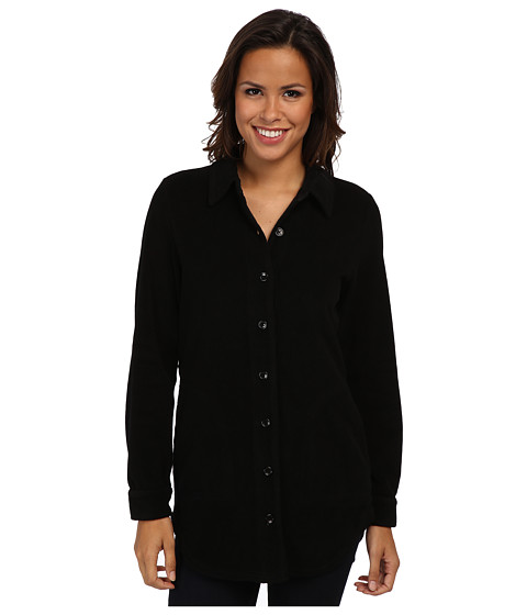 Mod-o-doc - Sherpa Cozy Big Shirt (Black) Women