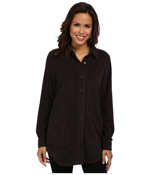 Mod-o-doc - Sherpa Cozy Big Shirt (Cinder) Women