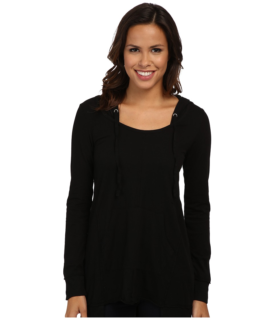 Mod-o-doc - Classic Jersey Pullover Hoodie (Black) Women