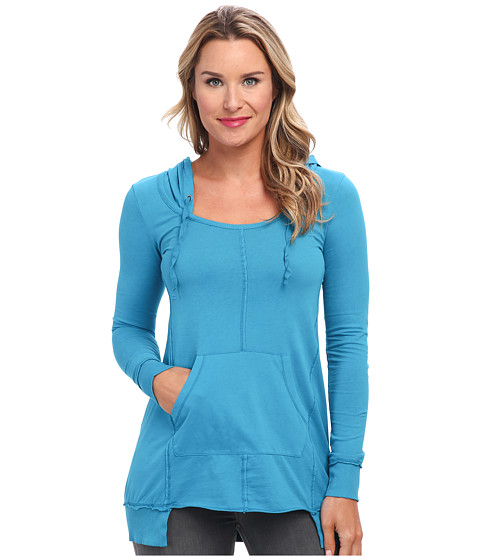 Mod-o-doc - Classic Jersey Pullover Hoodie (Skyline) Women's Sweatshirt