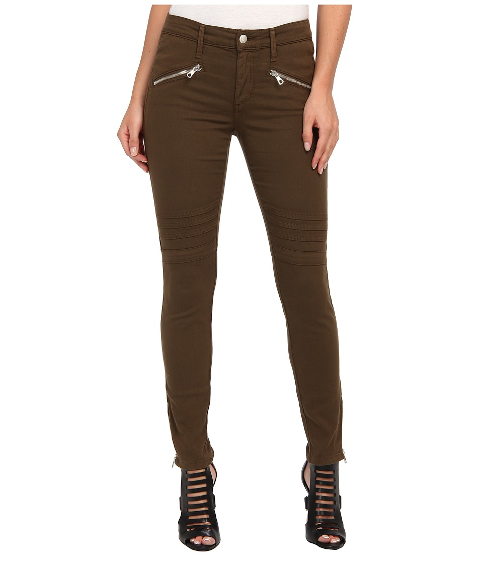 Joe's Jeans - Sooo Soft Chevron Ankle Legging in Modal Twill Colors (Faded Olive) Women's Jeans