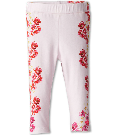 Paul Smith Junior - Flower Printed Jersey Pants (Infant) (Sweet Pink) Girl's Casual Pants