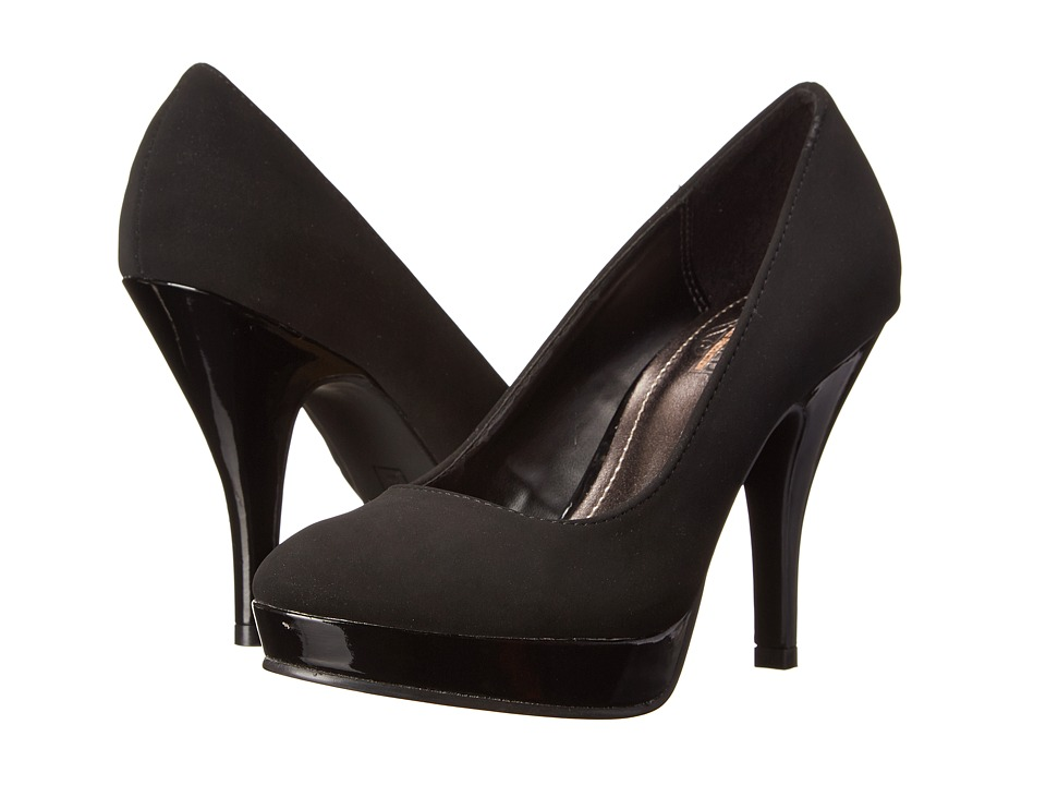 Kenneth Cole Unlisted - File System (Black Rossi Pu) High Heels