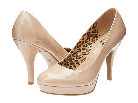 Kenneth Cole Unlisted - File System (Nude Patent) High Heels