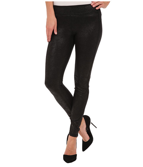 Joe's Jeans - Off Duty Legging In Black Suede in Plie' (Plie') Women's Casual Pants