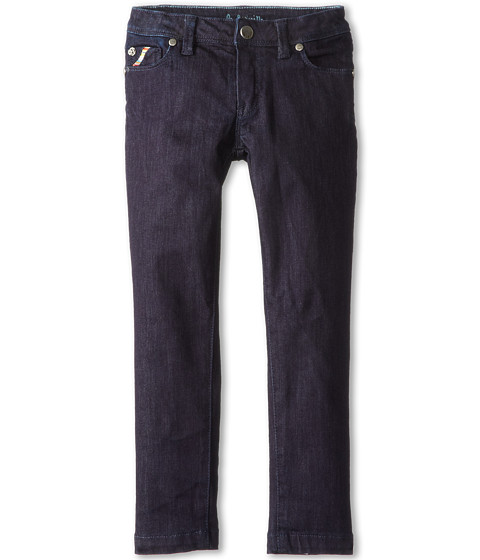 Paul Smith Junior - Denim Pant (Toddler/Little Kids) (Navy) Girl's Jeans