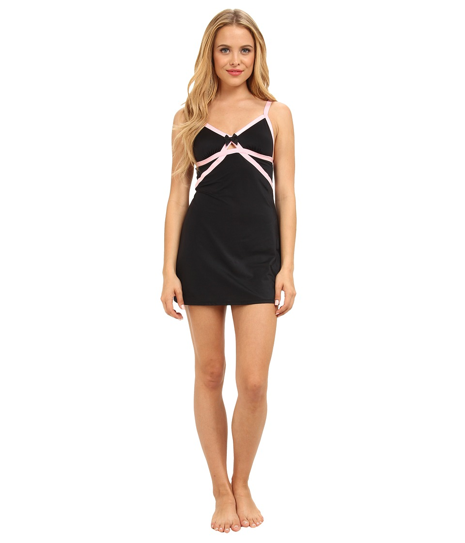 Betsey Johnson - Slinky Slip 732810 (Raven Black) Women's Pajama